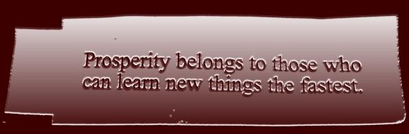learning prosperity